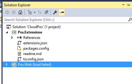 Cloud POS Solution Error